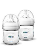 Avent Avent - Natural Babyfles 2pcs 0m+ 125ml