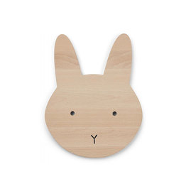 Liewood Liewood - Troy Wooden Lamp Rabbit Natural