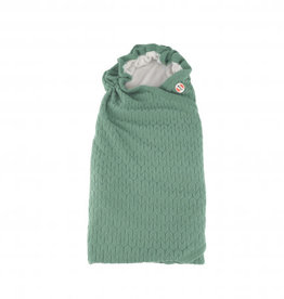 Lodger Wikkeldeken baby Wrapper Fleece Empire Green Bay