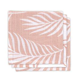 Jollein Monddoekje hydrofiel Nature - Pale Pink - 3 Stuks