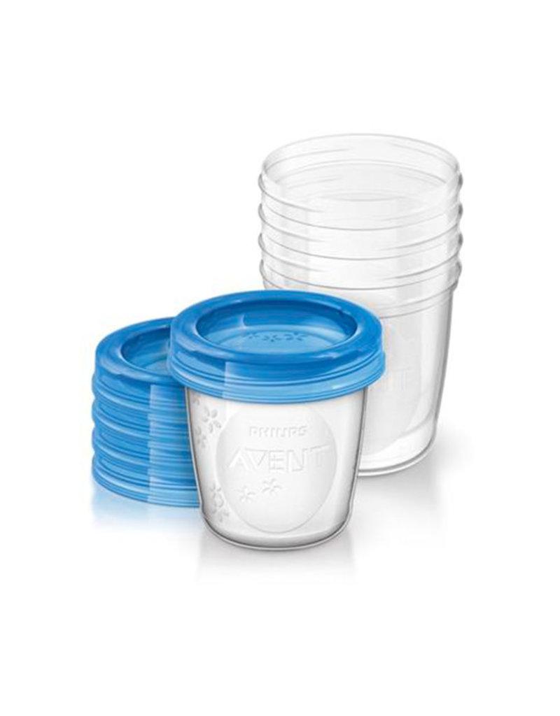 Avent Avent - 5 pots de stockage 180ml