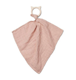 Liewood Liewood - Dines Teether Cuddle Cloth Little Dot Rose