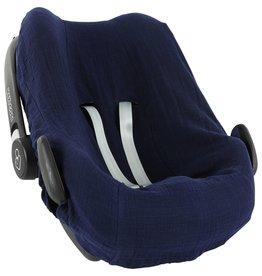 Les rêves d'Anaïs Car seat cover | Pebble Bliss Blue