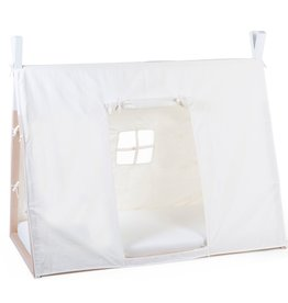 Childhome TIPI BED COVER - 70X140 CM - WHITE