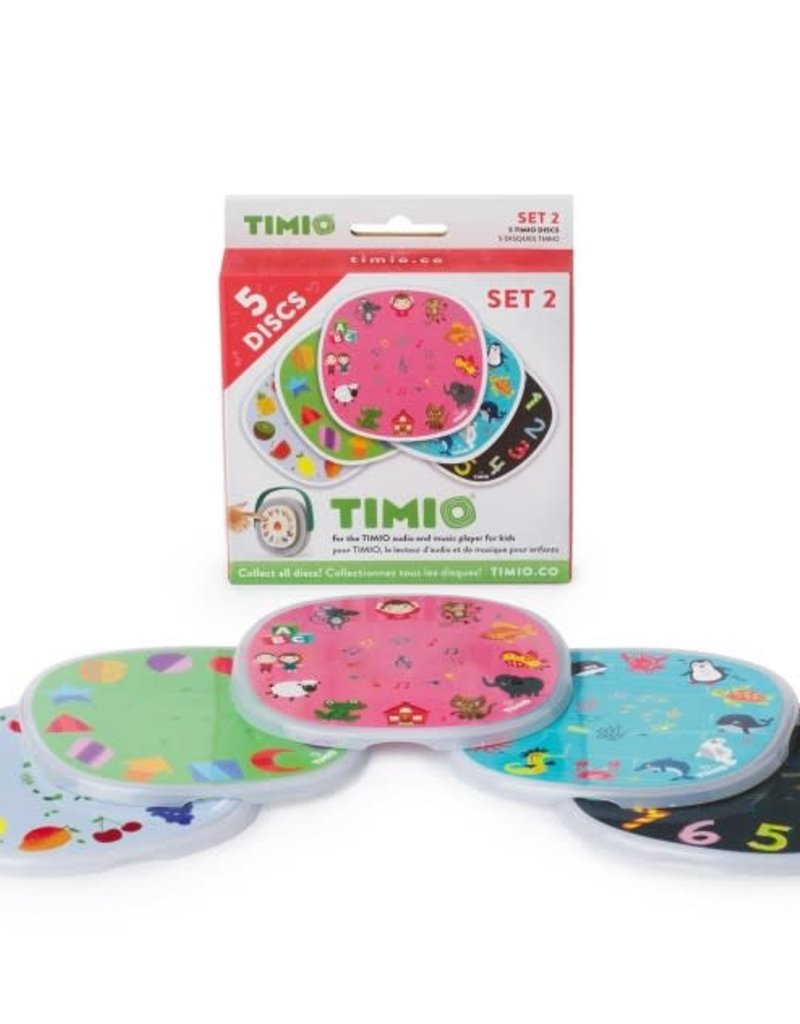 Timio Disc Pack Set 2