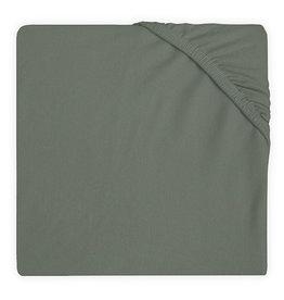 Jollein Hoeslaken Wieg Jersey 40x80/90cm - Ash Green