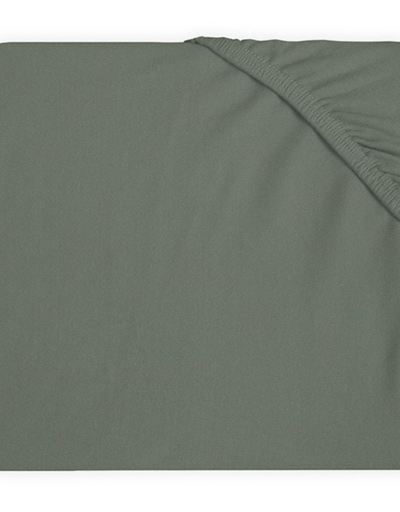 Jollein Hoeslaken Ledikant Jersey 60x120cm - Ash Green