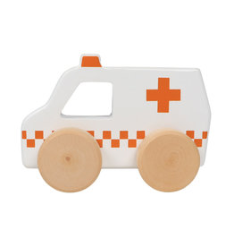 Tryco Tryco - Wooden Ambulance Toy