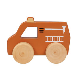 Tryco Wooden Fire Truck Toy