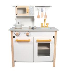 Tryco Wooden Kitchen White/Gold