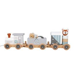 Tryco Wooden Animal Train