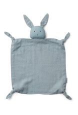Liewood Agnete Cuddle Cloth - Rabbit sea blue