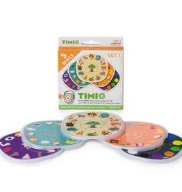 Timio SET 1: 5 Timio Discs