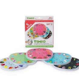 Timio SET 2: 5 Timio Discs