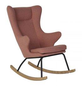 Quax Rocking Adult Chair De Luxe - Soft Peach