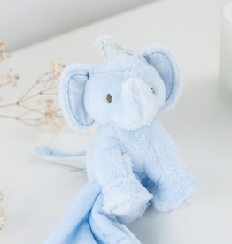 Tartine & Chocolat Ferdinand l'éléphant - Doudou bleu ciel