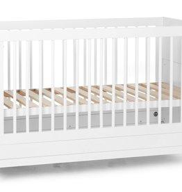 Childhome JOTA WHITE - MEEGROEIBED - 70X140 CM