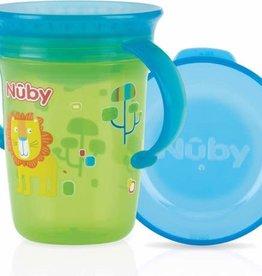Nuby Wonder cup met handvatten - 240ml - groen - 6m+
