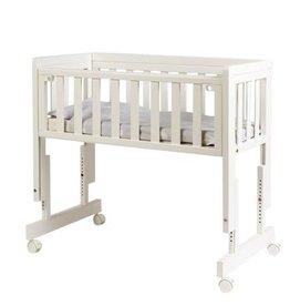 Troll Co-sleeper Loft Bedside Crib wit