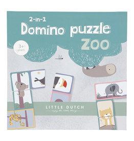 Little Dutch Domino puzzel dierentuin
