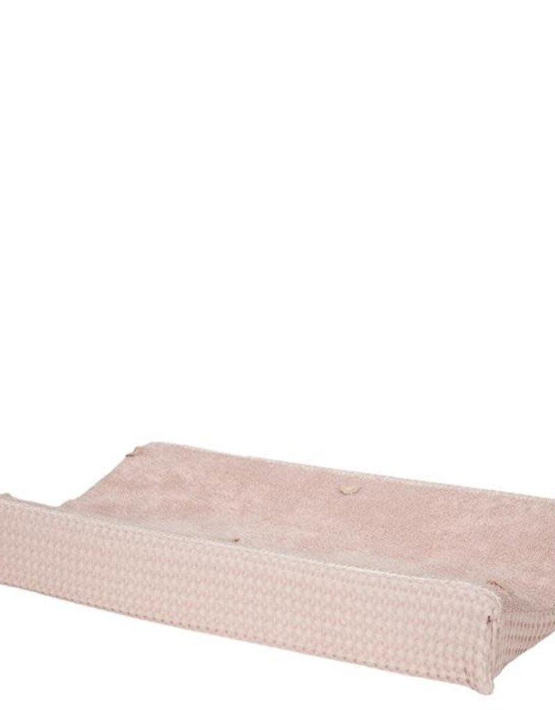 Koeka Aankleedkussenhoes wafel Amsterdam Grey/Pink