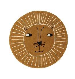 OYOY Lion Rug - Caramel