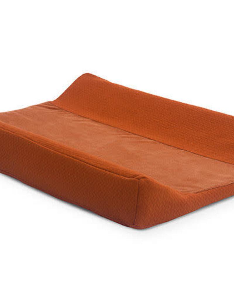 Jollein Aankleedkussenhoes Brick Velvet 50x70cm - Rust