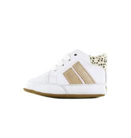 Go Banana's Newborn Soft sole M White gold