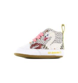 Go Banana's Newborn Soft sole M Swan kiss Peach