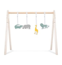 Jollein Babygym Speeltjes - Safari - 4 Stuks