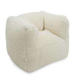 Jollein Kinderfauteuil Beanbag Teddy - Cream White