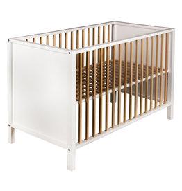 Quax Bed Nordic 120x60 - White & Naturel