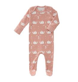 Fresk Pyjama Whale Mellow Rose Newborn