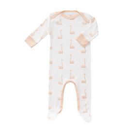 Fresk Pyjama Swan Pale Peach Newborn