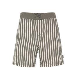 Lässig Board Shorts Boys Stripes Olive