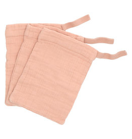 Heart of Gold Wash clothes 3pcs Who Terra