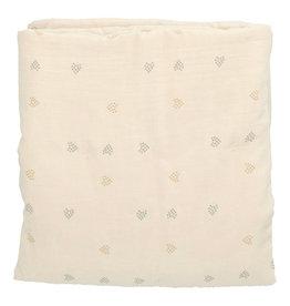 Heart of Gold Blanket 70x90 Baez Blossom/Blossom hearts