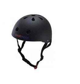 KiddiMoto Helm Mat Zwart Medium