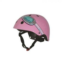 KiddiMoto Helm Pink Goggle Medium
