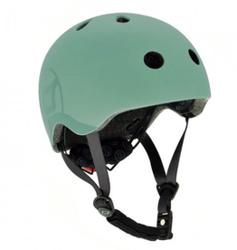 Scoot and Ride Helmet Forest Small