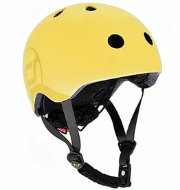 Scoot and Ride Helmet Lemon Small