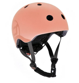 Scoot and Ride Helmet Peach Small