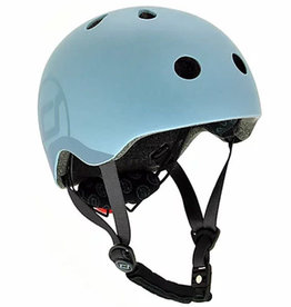 Scoot and Ride Helmet Steel Small