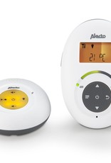 Alecto Baby Alecto DBX-125 - Full Eco DECT babyfoon met display, wit/antraciet