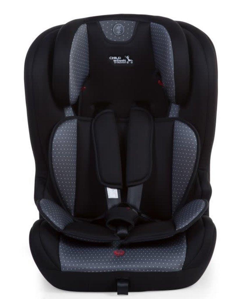 Childhome Autostoel Isofix Groep 1/2/3 Grijs Antraciet
