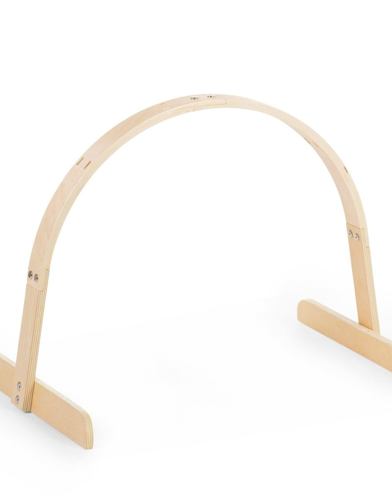 Childhome Baby Gym Universeel Rond Hout Naturel
