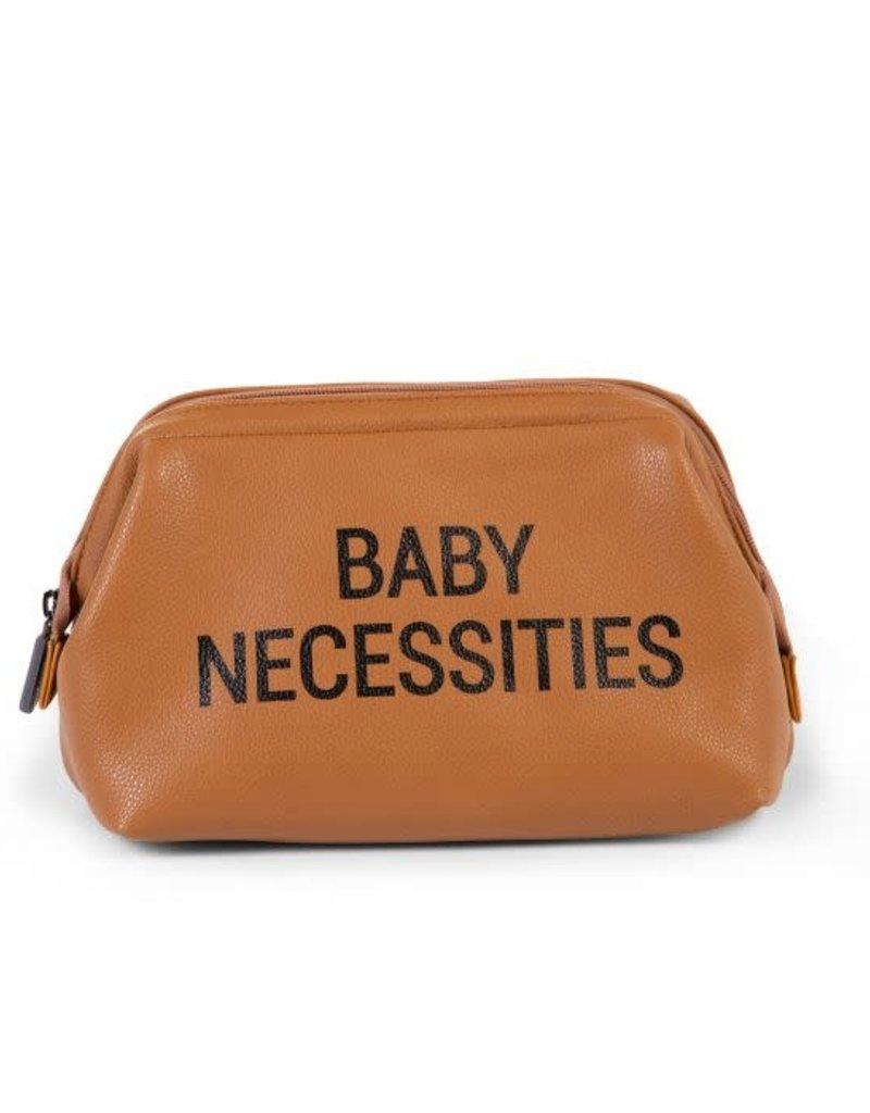 Childhome Baby Necessities Toilettas - Lederlook Bruin