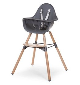 Childhome Evolu 2 Kinderstoel - Verstelbaar In Hoogte - Naturel Antraciet