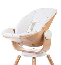 Childhome Evolu Newborn Comfortkussen - Jersey Gold Dots