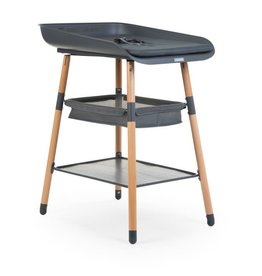 Childhome Childhome - Table d'allaitement Evolux - Anthracite naturel
